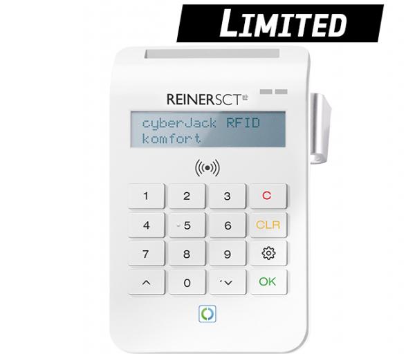 cyberJack® RFID komfort (USB) Limited Edition, Chipkartenleser