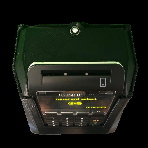 Wandhalterung Diebstahlschutz für timeCard select Terminal und Dockingstation