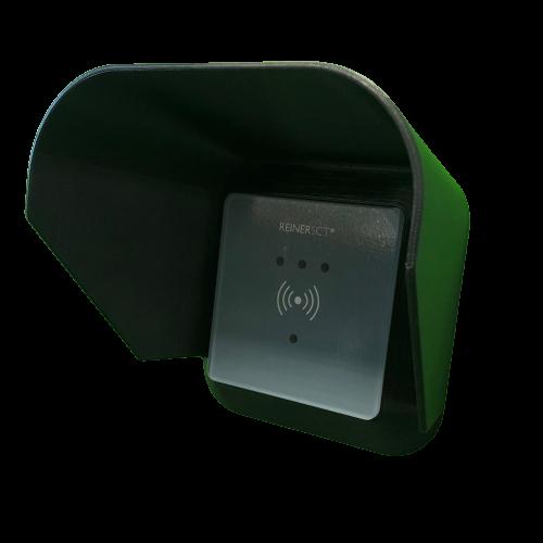Wetterschutzdach für Reiner SCT timeCard Leser RFID DES