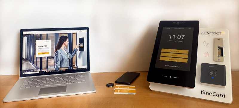 Digitale Zeiterfassung mit timeCard kostenlos testen