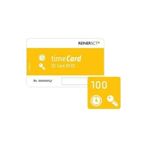 TIMECARD 100 STÜCK RFID DES PREMIUM CHIPKARTEN EV2
