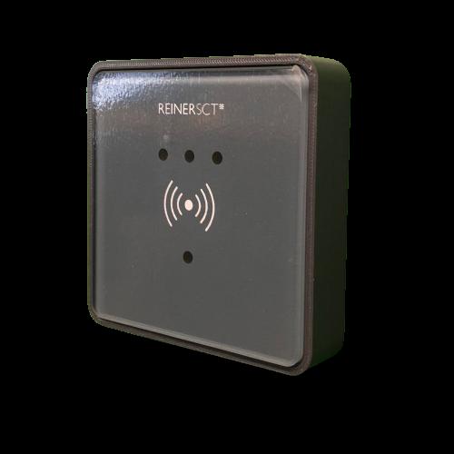 Diebstahlschutzrahmen für Reiner SCT timeCard Leser RFID DES