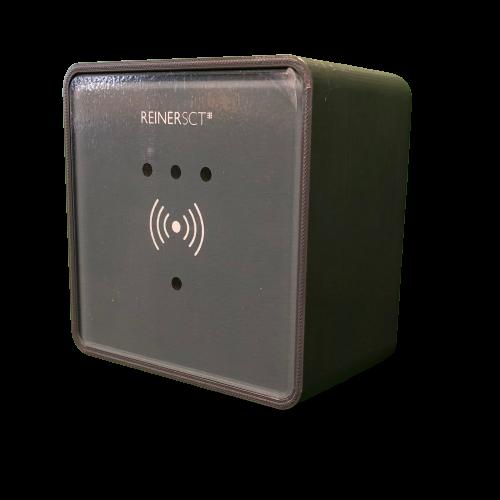 Aufputzdose für Reiner SCT timeCard Leser RFID DES