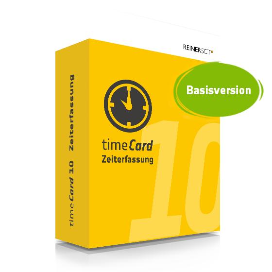 TIMECARD 10 ZEITERFASSUNG BASISVERSION