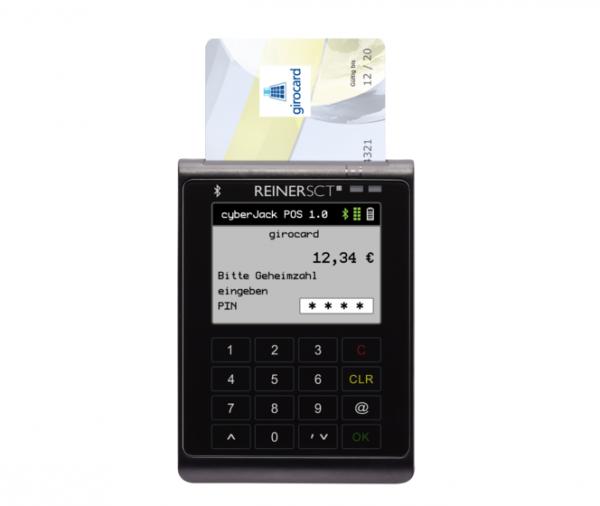 cyberJack® POS, smartes Kartenzahlungsterminal