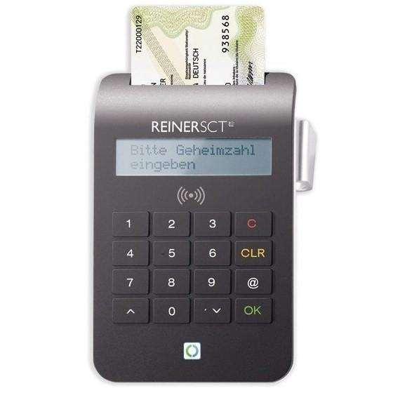 cyberJack® RFID komfort (USB), RFID-Chipkartenleser