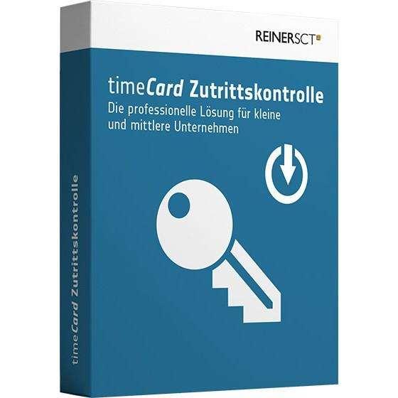 TIMECARD 6 ZUTRITTSKONTROLLE FÜR 50 MITARBEITER JAHRESLIZENZ
